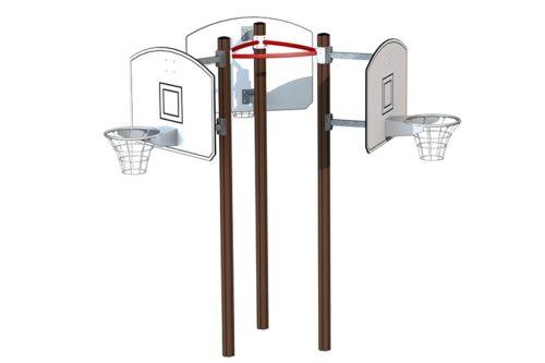 Basketbollkorg trippel komplett 5e66b08b3524e