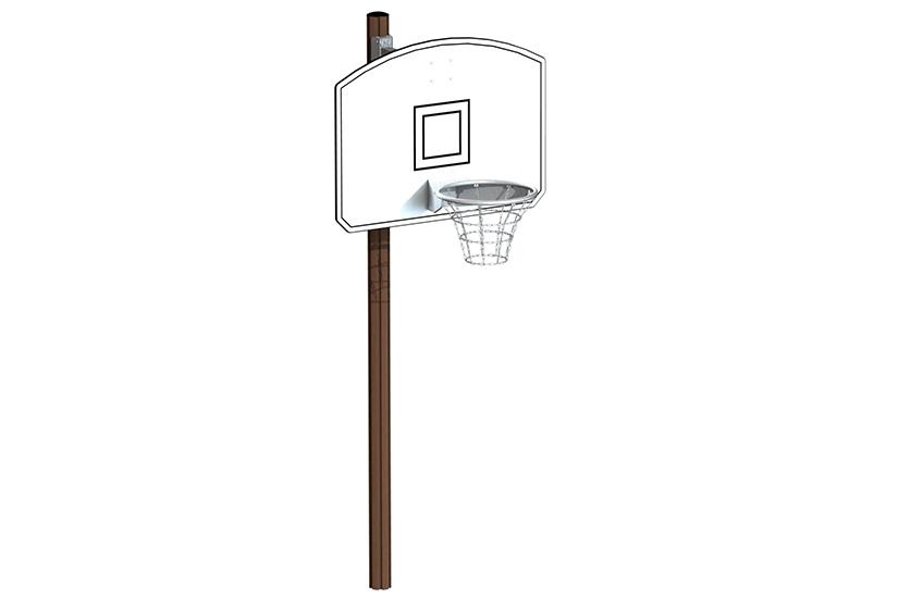 Basketkorg med stolpe regulerbar höjd 6e272af359047