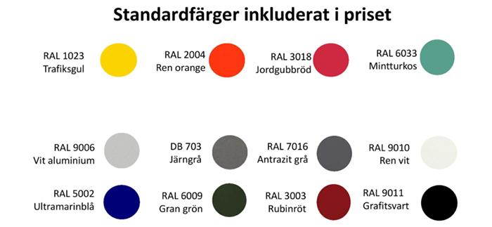 Färger Erlau